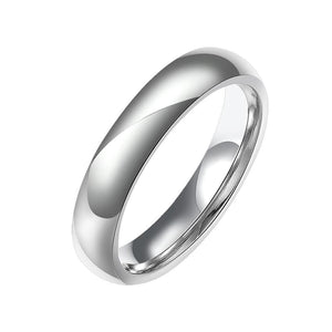 Stainless Steel Comfort Fit Unisex Stackable Rings-Poppy Street