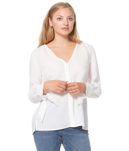 Cindy Tencel Linen Top-Poppy Street
