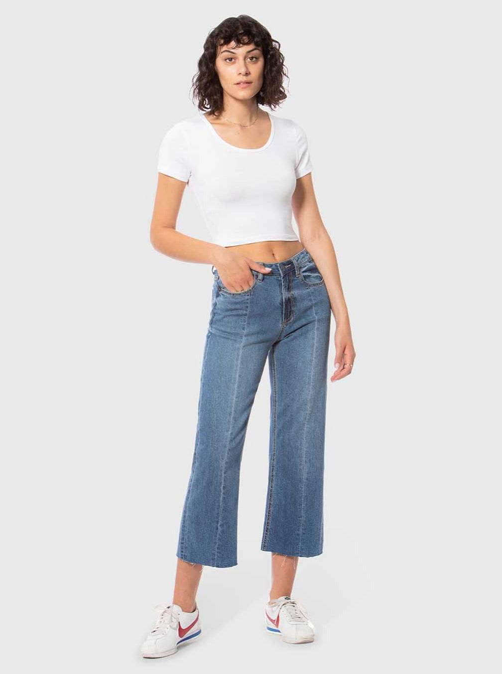 Laurel High-Rise Wide Leg Jeans-Poppy Street