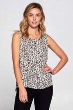 Load image into Gallery viewer, Loepard Print Tank Top-Poppy Street