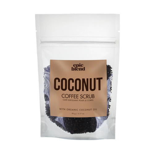 Coconut Coffee Scrub-Poppy Street