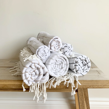 Load image into Gallery viewer, Mini Turkish Towel Buff-Poppy Street