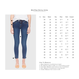 Blair Mid-Rise Skinny Jeans Cool Starry Night-Poppy Street