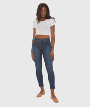 Load image into Gallery viewer, Blair Mid-Rise Skinny Jeans Cool Starry Night-Poppy Street