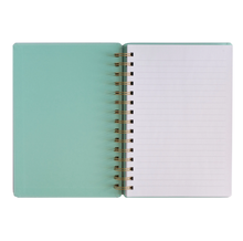 Load image into Gallery viewer, Boss Lady Mint Spiral Notebook-Poppy Street