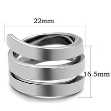 Load image into Gallery viewer, Spiral Stainless Steel Ring-Poppy Street