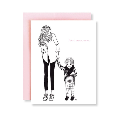 Best Mom Ever Card-Poppy Street