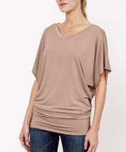 Load image into Gallery viewer, Bamboo V-Neck Tunic-Poppy Street