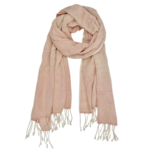 Blush Organic Cotton Gauze Scarf-Poppy Street