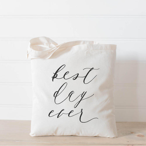 Best Day Ever Cotton Tote