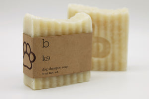 K9 Dog Shampoo Bar - Unscented-Poppy Street