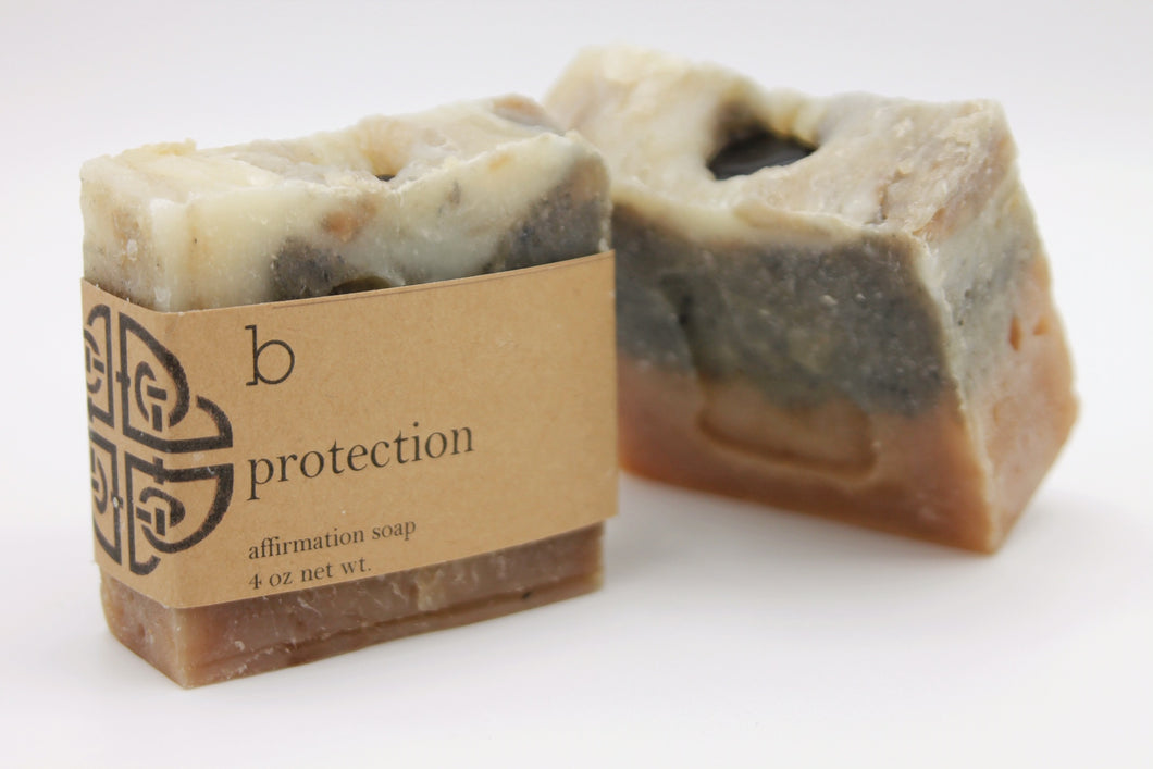 Protection Affirmation Soap-Poppy Street