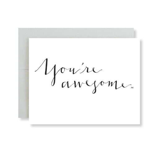 You are Awesome Card-Poppy Street