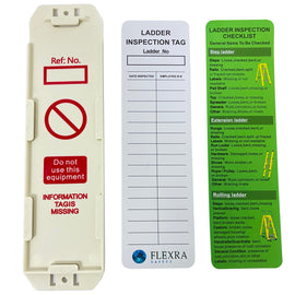 FLEXRA - Ladder inspection tag kit (Pack of 10)