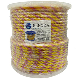 FLEXRA™ Barricade Rope- Magenta & Yellow