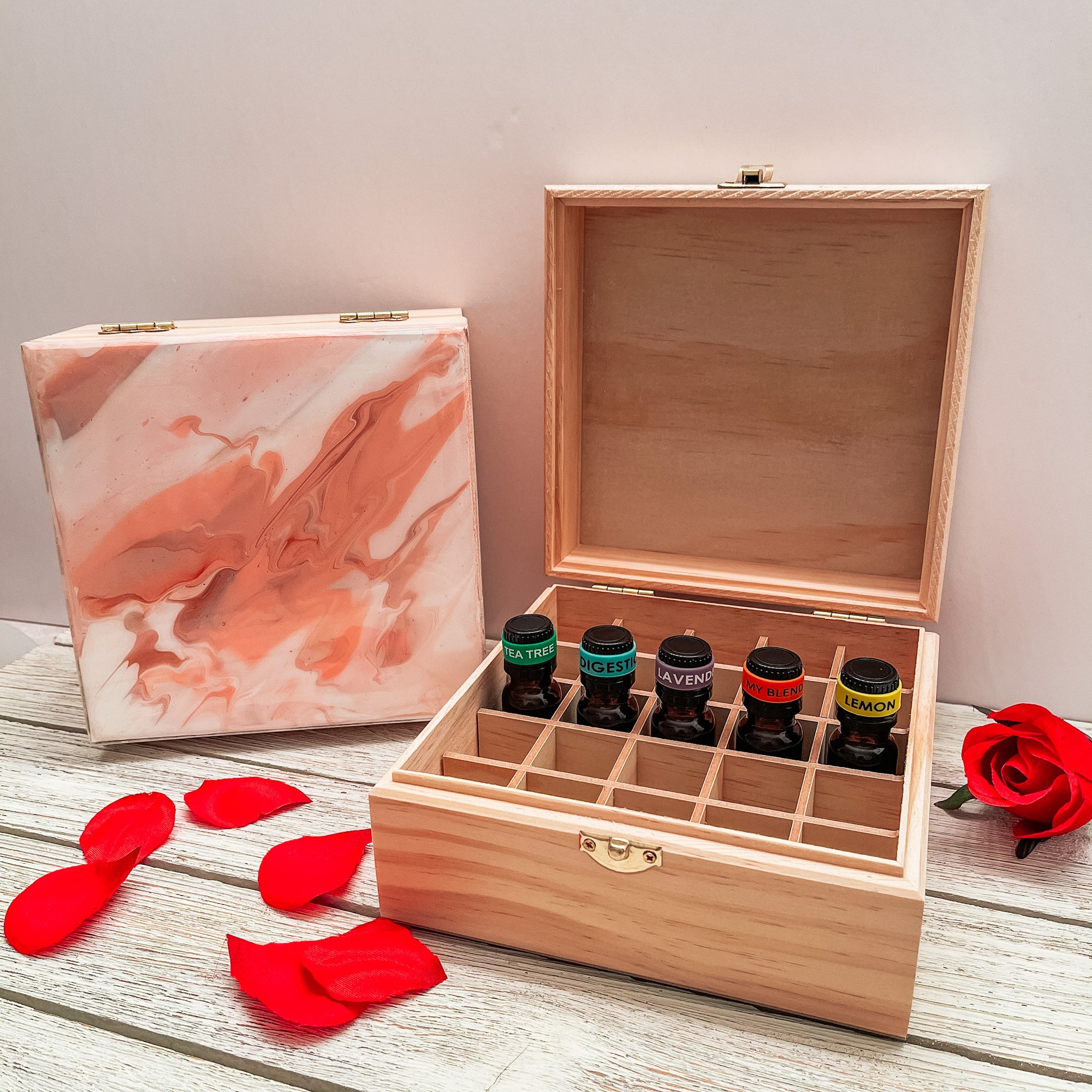 Handmade Oil Storage Box Collection