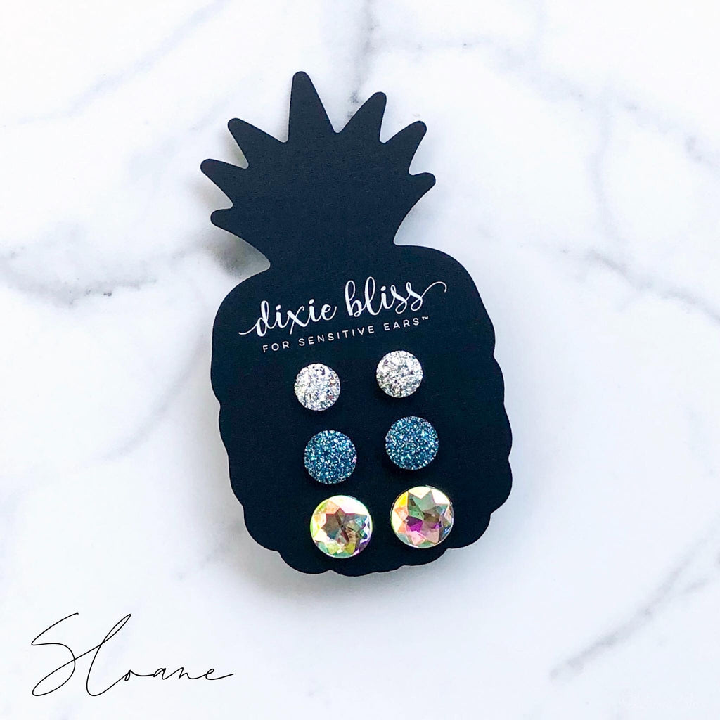 Dixie Bliss Sloane Stud Earrings