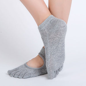Yogi Yard 5 Toe Grippy Yoga Socks