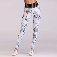 Load image into Gallery viewer, 'Alyssa' Floral Print Scrunch Leggings / Yoga Pants