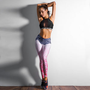 'Aditi' Mandala Print Leggings / Yoga Pants
