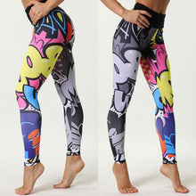 Load image into Gallery viewer, 'Boom' Comic Pattern Leggings / Yoga Pants