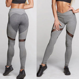 'Venus' Mesh Pattern Leggings / Yoga Pants