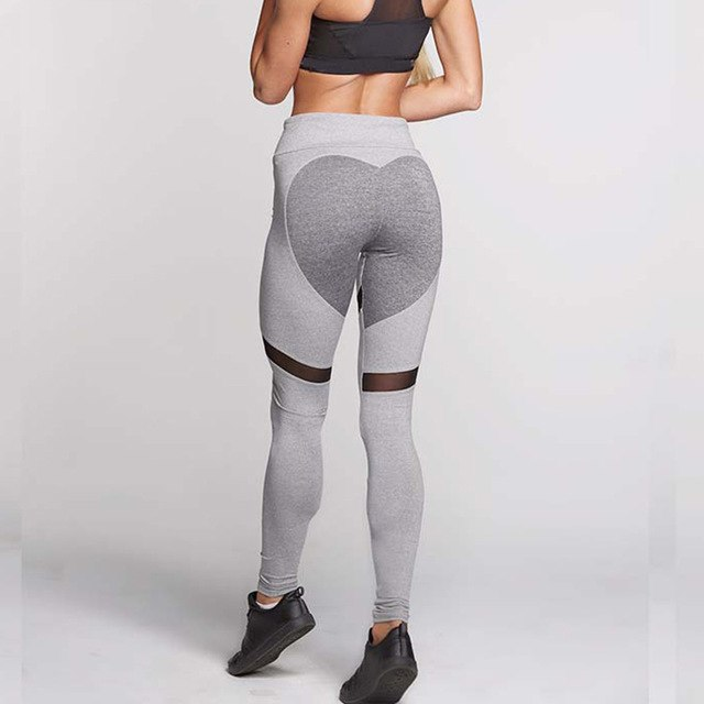 3f42654a218498 'Venus' Mesh Pattern Leggings / Yoga Pants – Yogi Yard