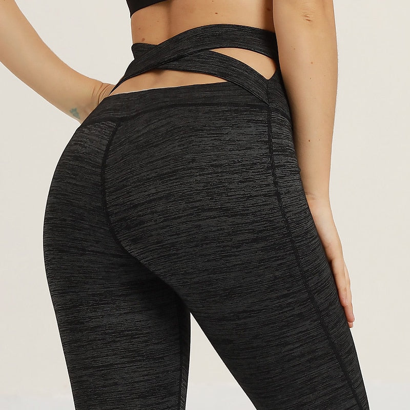 'Asana' High Waisted Leggings / Yoga Pants