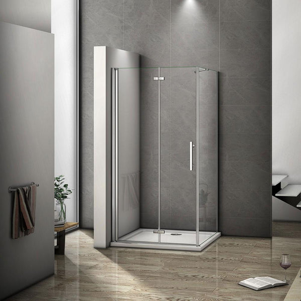 700-1000x1850mm Chrome pivot shower rectangle enclosures,Shower tray Optional