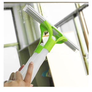 Window Squeegee Glass Cleaning Wiper Rubber Blade Shower Screen