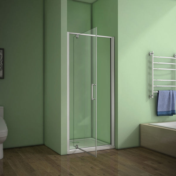 pivot shower door,shower Tray Various sizes Optional 700-1000mmx1850