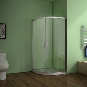 800x800x1850mm Quadrant Shower Enclosure,Shower Tray available
