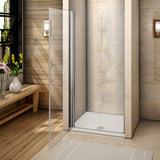 Chrome Frameless Pivot Door,shower doors for bath