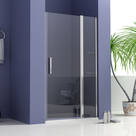 700|1000|1200MM Frameless Pivot Shower Door,Shower Stone Tray Optional