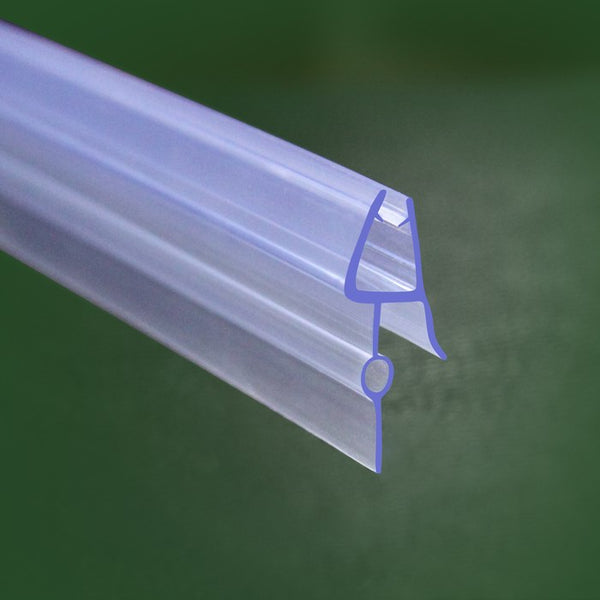 Bath shower screen door seal for 4-6mm, 6-8mm glass