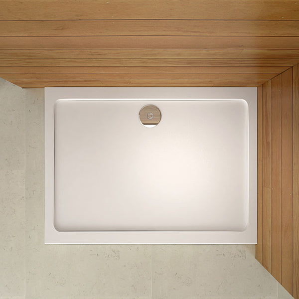 30mm slimline Rectangle or Square  Shower Enclosure Stone Tray