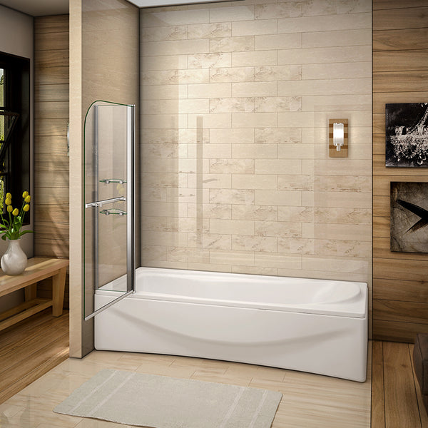 bath screen 1000mm wide,aica bath screen,pivot bath screen