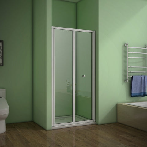 700-1000mm framed Bifold Shower Door,Tray optional