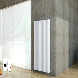Aica Designer | Vertical | Traditional 2-3 Column | Central Heated Radiators