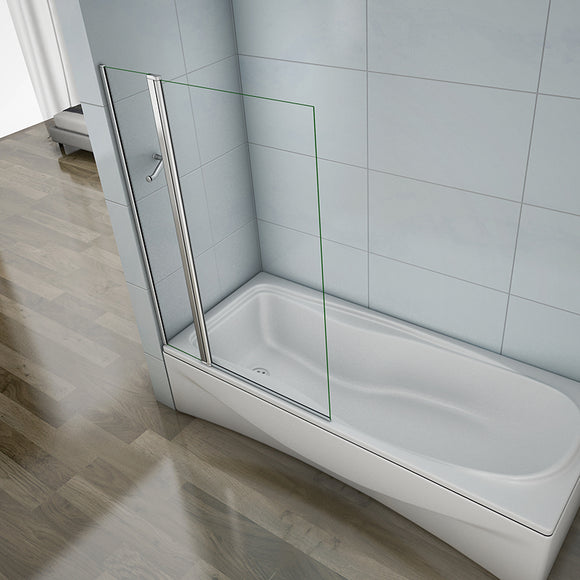 1000X1400mm new Chrome 180 degrees Pivot Shower Bath Screen