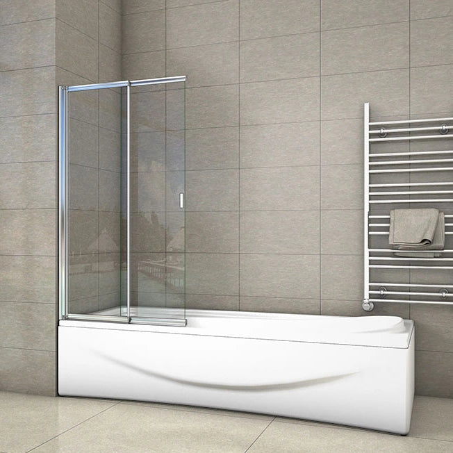 180 degrees pivot 800x1400mm sliding Bath-Screen