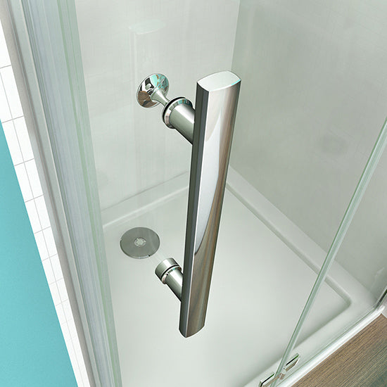 700-1000mmx1850 Chrome Hinge shower door,Shower Tray Various sizes Optional