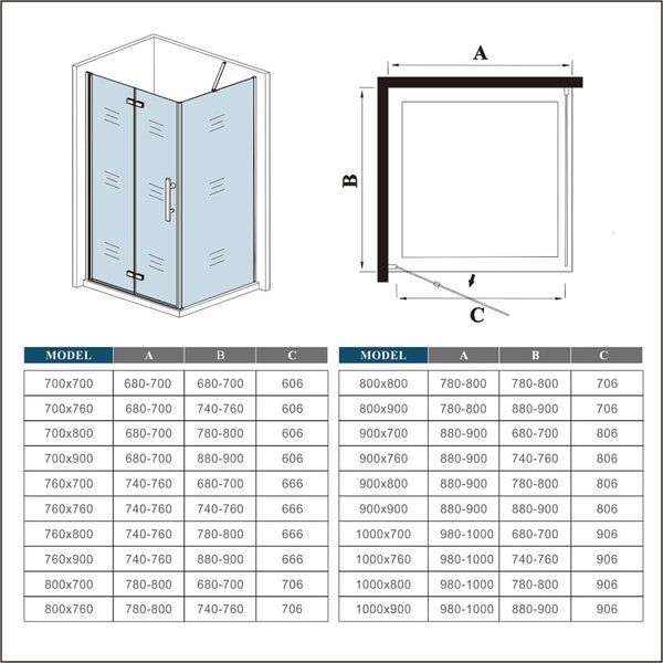 pivot hinge shower door,hinged bath door,pivot shower door