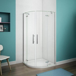 80x80cm 90x90cm  1900mm height Chrome Quadrant Enclosure Corner Cubicle,Shower Tray Optional