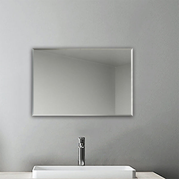 Flameless Plain Mirror Large Full Length with Wall Hanging Fixings