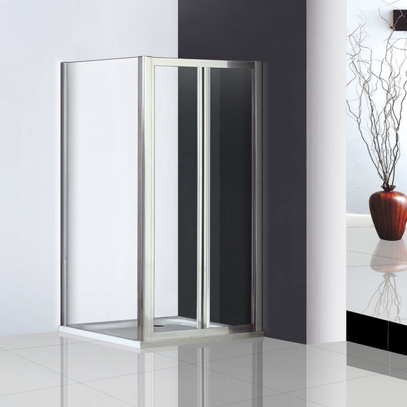 760mm|800mm |900mm Double Pivot Shower Door,with Side Panel,Tray Optional