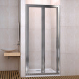 760mm| 800mm| 900mm double Pivot Shower door,Shower Tray Optional