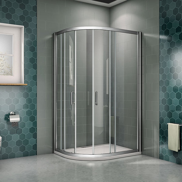 760 1200mm Easyclean Glass Offset Walk In Quadrant Shower Enclosure 19 Aica Bathrooms