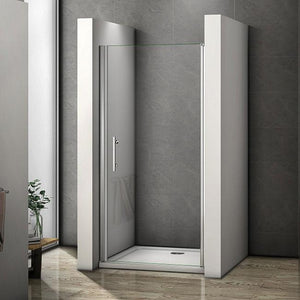900mm|1000mm Chrome Frameless Pivot Door 1950mm height