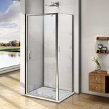 760-1000x1850mm Height Pivot Hinge Shower Door,Side Panel,Shower Tray Optional